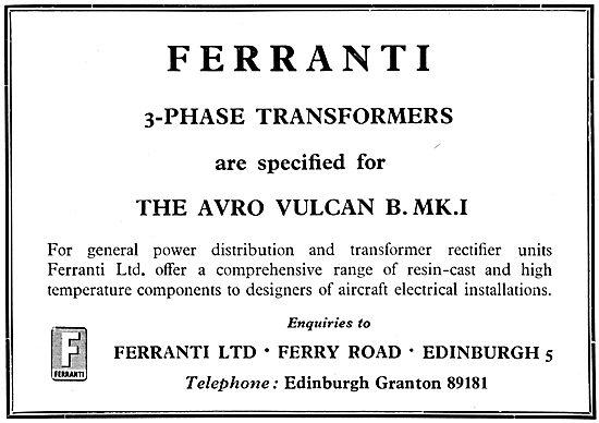 Ferranti 3-Phase Transformers