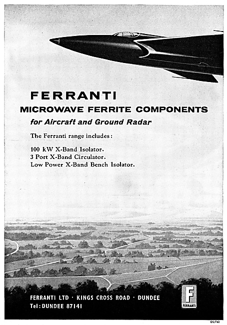 Ferranti Ferrite Components For Radar Systems