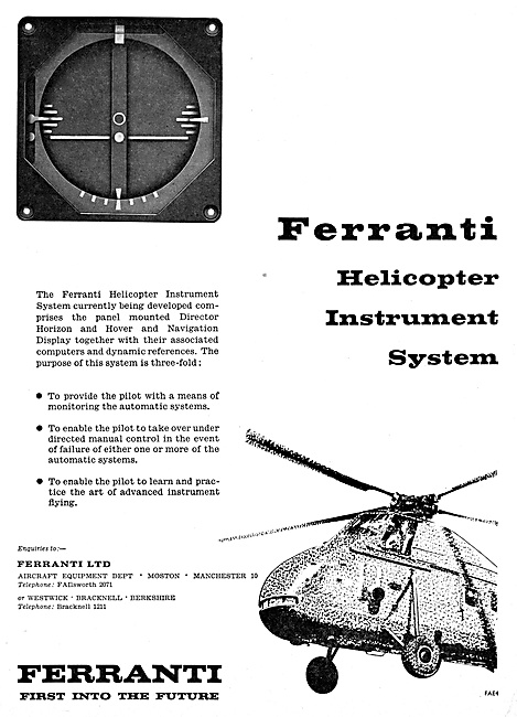 Ferranti Helicopter Instrument Systems