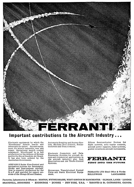 Ferranti Flight Control Systems & Electronics