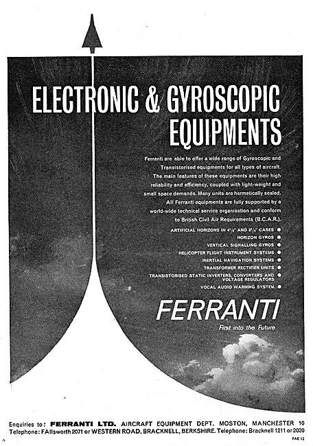 Ferranti Electronics & Gyroscope Equipment