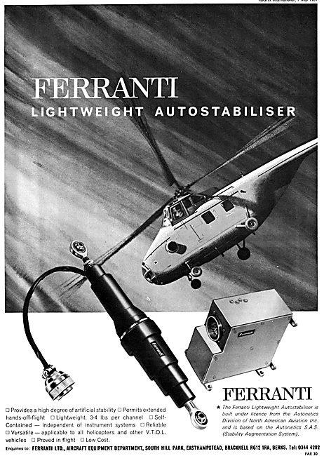 Ferranti Helicopter Autostabiliser
