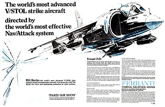 Ferranti INAS Inertial Nav Attack System