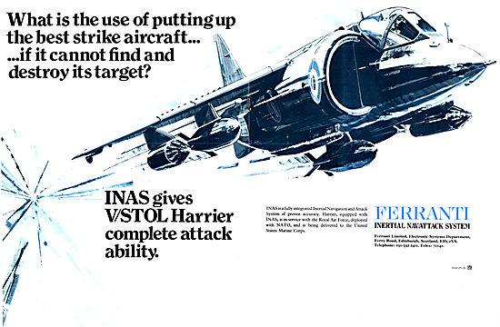 Ferranti Inertial Nav/Attack System