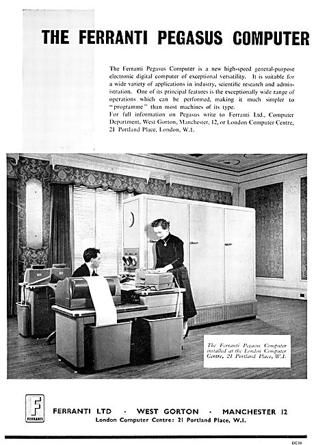 Ferranti Pegasus Computers