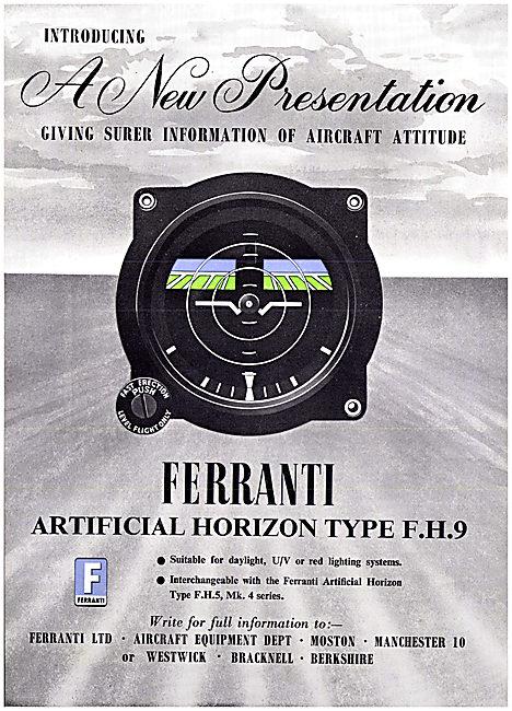 Ferranti Artificial Horizon F.H.9