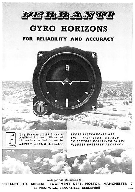 Ferranti FH5 Mark 4 Gyro Horizon