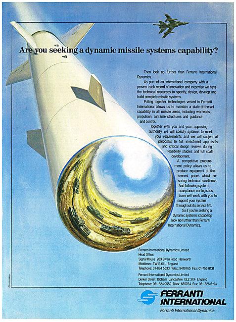 Ferranti Dynamic Missile Systems
