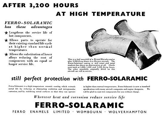 Ferro Enamels. Ferro-Solaramic Ceramic Coatings