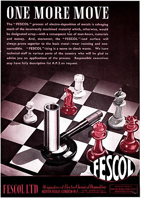 Fescol Electro-Deposition Of Metals Process