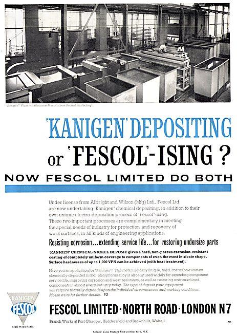 Fescol.: Fescolising - Kanigen Depositing