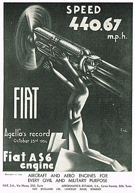 Fiat AS6 Aero Engine