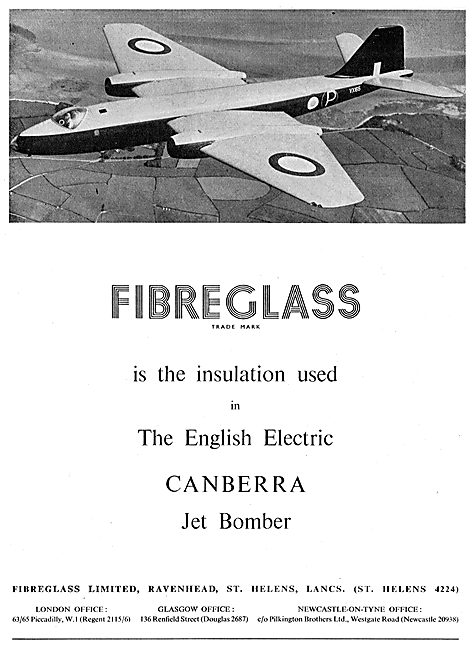 Fibreglass Aircraft Insulation