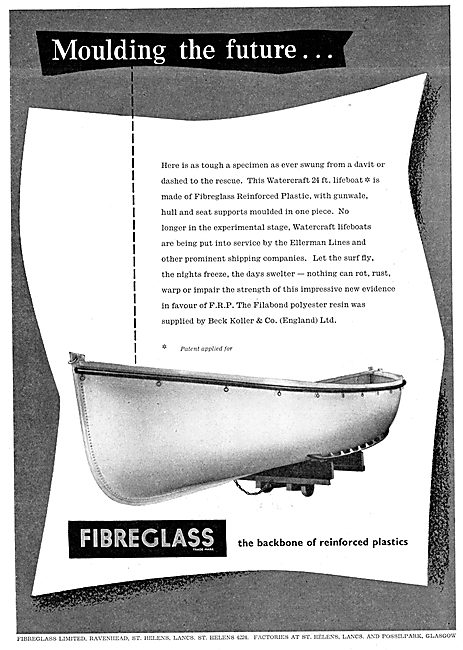 Fibreglass Ltd - Reinforced Plastics For The Aircraft Industry
