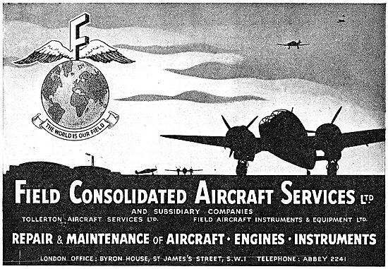 Field Aircraft Services. Tollerton Aircraft Services Ltd
