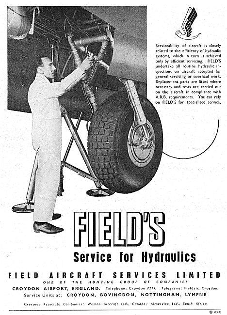 Fields Aircraft Services, Maintenance, Repairs & Overhauls