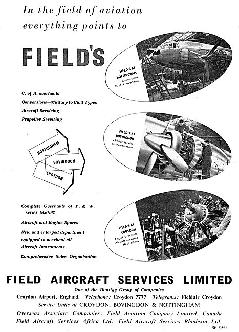 Field's Aircraft Sales & Engineereing Services