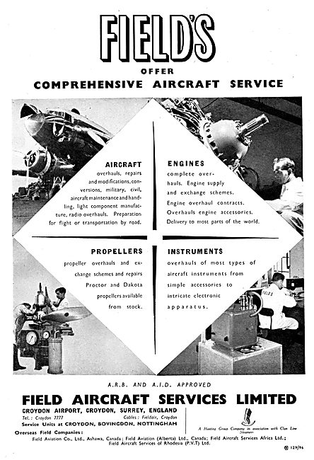 Field Aircraft Services - Maintenance, Sales & Service