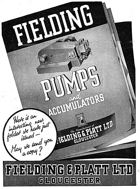 Fielding & Platt Industrial Pumps & Accumulators 1943