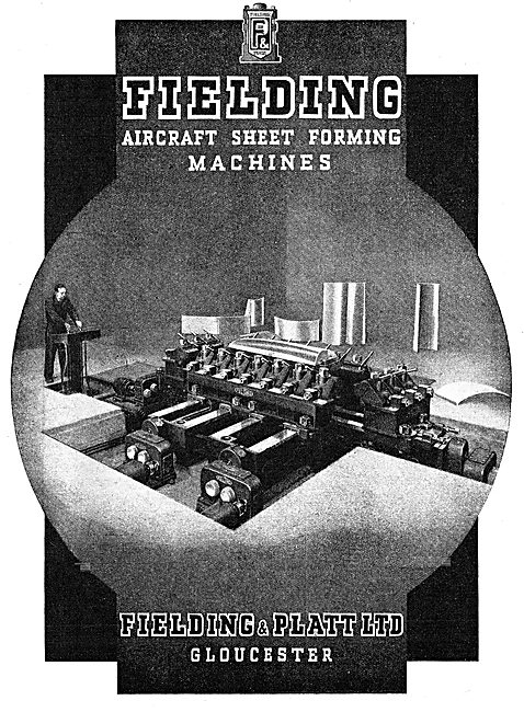 Fielding & Platt Sheet Forming Machines 1943