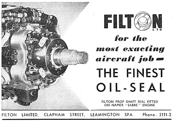 Filton Oil Seals & Bellows Glands - Leather Synthetic Rubber