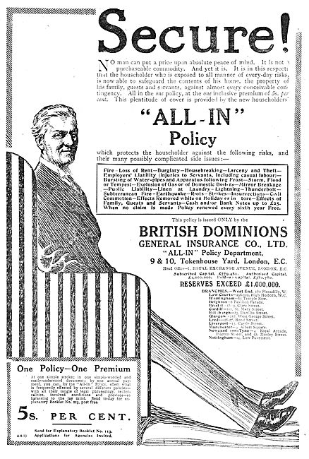 British Dominions General Insurance Co Ltd