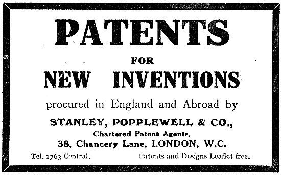 Stanley Popplewell & Co Chartered Patent Agents