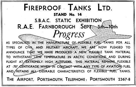 Fireproof Tanks Ltd. Hycatrol Flexible Fuel Tanks