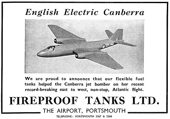 Fireproof Tanks - Portsmouth Airport