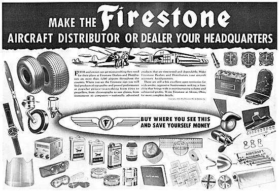Firestone Aircraft Tyres & Aircraft Accessories