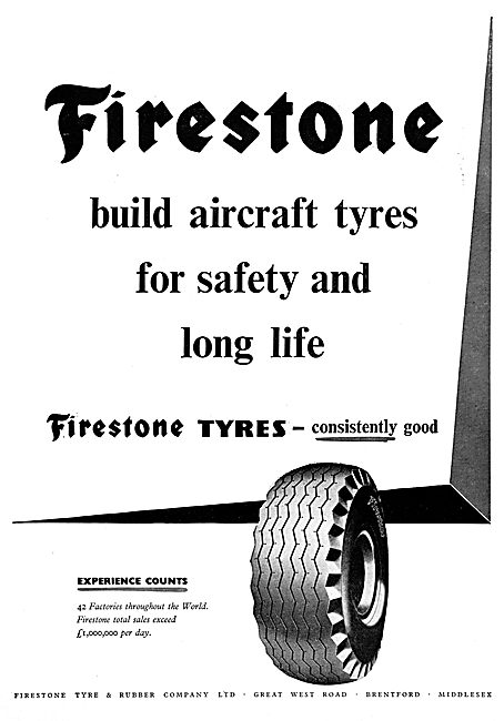 Firestone Aircraft Tyres