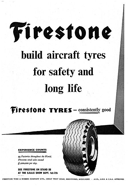 Firestone Tyres For Aircraft & Airport Vehicles