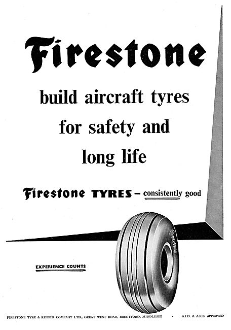 Firestone Build Aircraft Tyres For Safety & Long Life