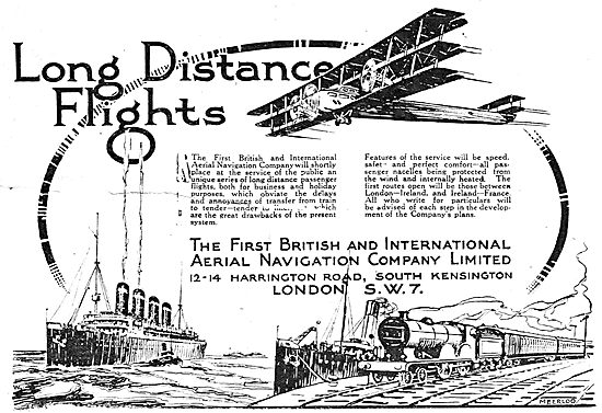 The First British & International Aerial Navigation Co Ltd