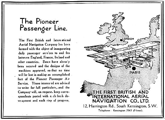 The First British & International Aerial Navigation Co