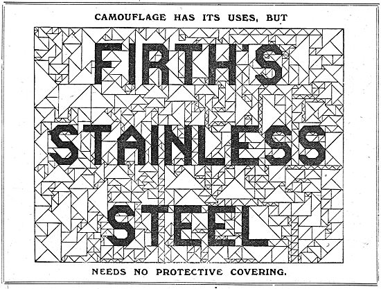 Firth's Stainless Steels For Aircraft Construction