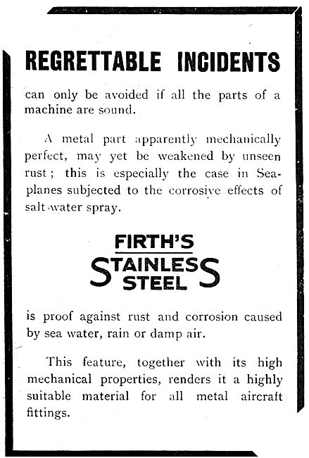 Firth's Stainless Steels