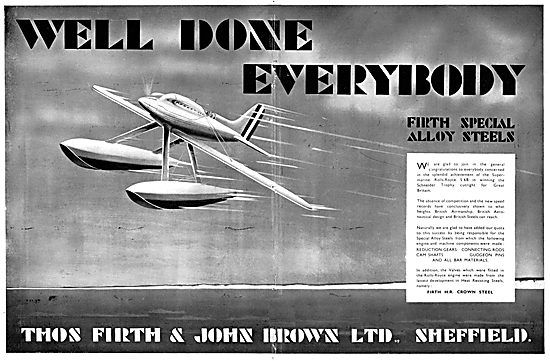 Firth Brown - Firth Special Alloy Steels