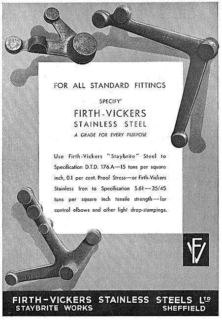 Firth-Vickers Stainless Steels: S61 - 35/45