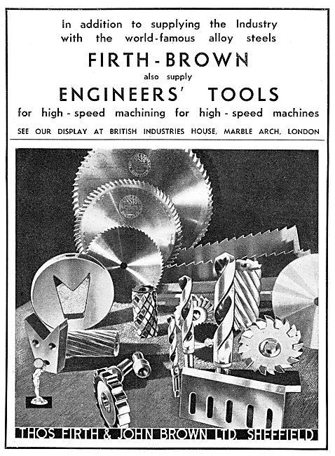 Firth Brown Engineers' Tools
