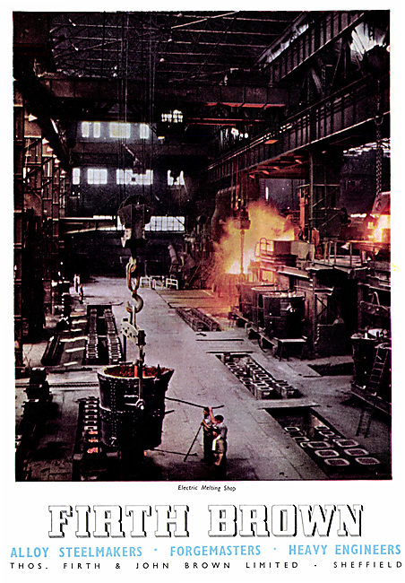 Firth Brown Alloy Steelmakers & Forgemasters