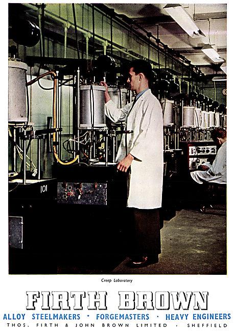 Firth Brown Steelmakers, Forgemasters & Heavy Engineers