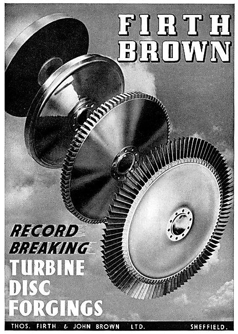 Firth Brown Turbine Disc Forgings