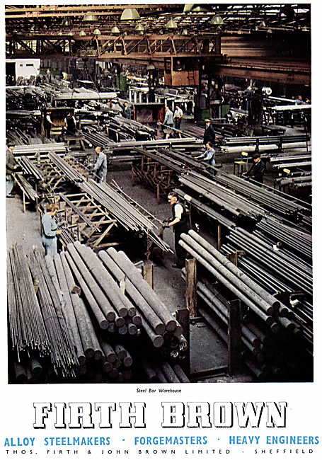 Firth Brown Steelmakers & Forgemasters