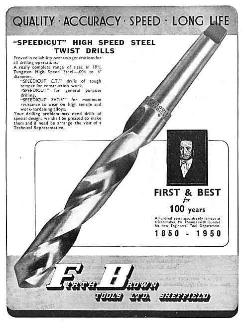Firth Brown Tools - Speedicut Twist Drills