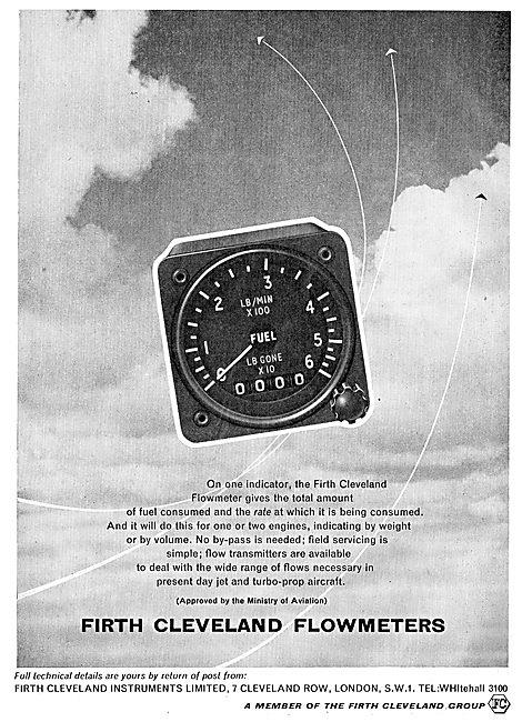 Firth Cleveland Aircraft Fuel Flowmeters