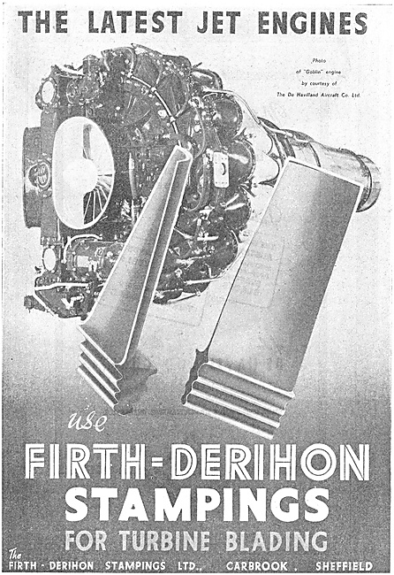 Firth-Derihon Stampings For Turbine Blades