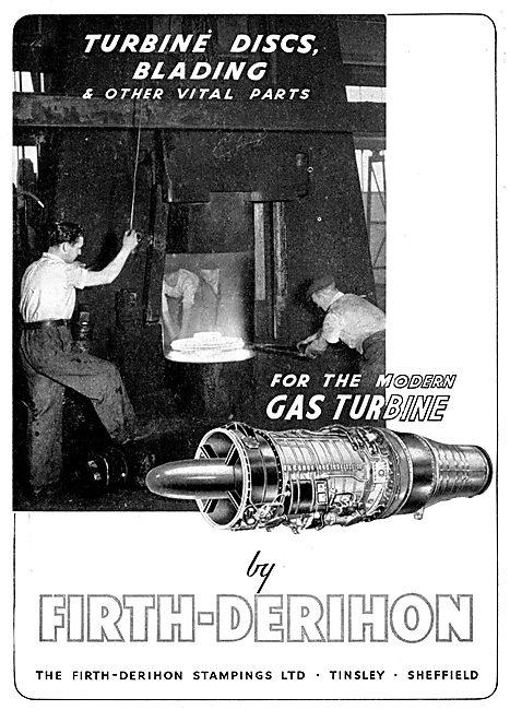 Firth-Derihon Drop Forgings - Turbine Discs & Blades