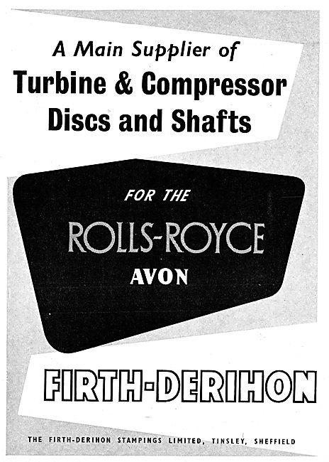Firth-Derihon Turbine & Compressor Discs