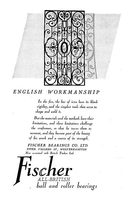 Fischer Bearings 1940